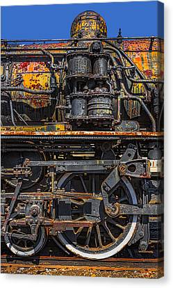Rusted Cnr Number 47 Train Canvas Print by Susan Candelario