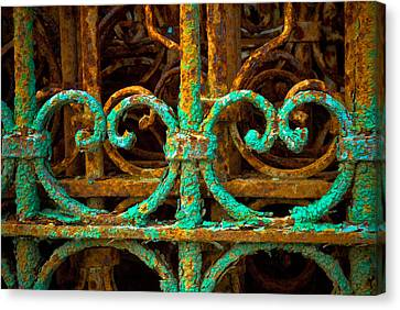Rusted Gates Canvas Print by Craig Perry-Ollila