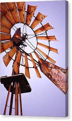 Rusted In The Past Canvas Print by Jame Hayes