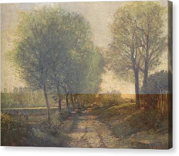 Rustic 12 Sisley Canvas Print by David Bridburg