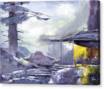 Rustic Canvas Print by Anil Nene