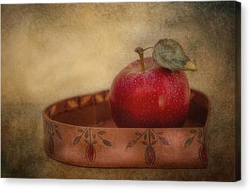 Rustic Apple Canvas Print by Robin-Lee Vieira