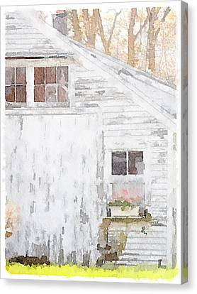 Rustic Barn Canvas Print by Judy Bernier