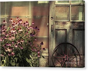 Rustic Corner Canvas Print by Aimelle