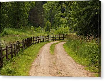 Rustic Country Road 1 Canvas Print