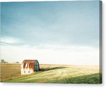 Rustic Fields Canvas Print by Todd Klassy