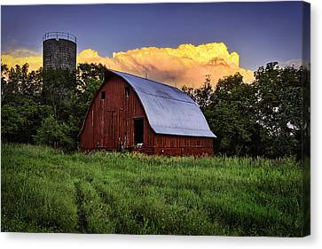 Barn Storm Canvas Print - Rustic Glory by Thomas Zimmerman