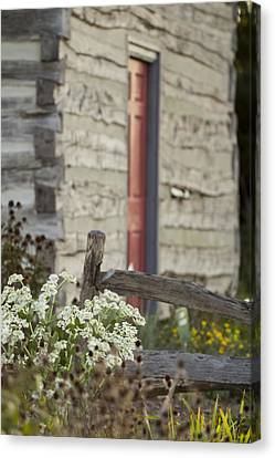 Southern Indiana Autumn Canvas Print - Rustic Home by Andrea Kappler