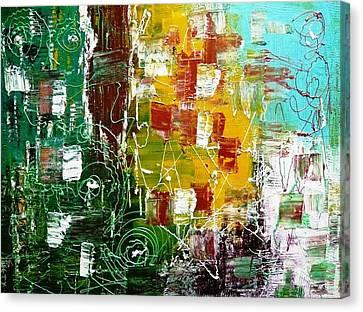 Rustic Momentz Canvas Print by Piety Dsilva