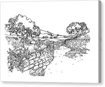 Rustic Path Canvas Print