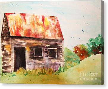 Canvas Print - Rustic Shed by Tina Sheppard