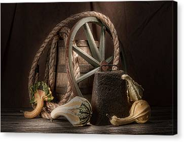 Rustic Still Life Canvas Print by Tom Mc Nemar