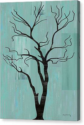 Rustic Tree Art Canvas Print