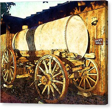Rustic Warrior Canvas Print by Glenn McCarthy Art and Photography