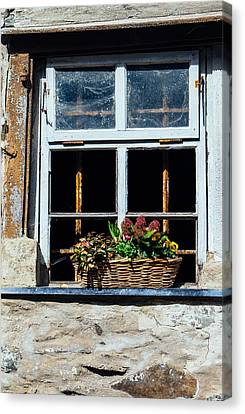 Rustic Window Canvas Print by Pati Photography