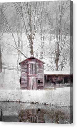 Rustic Winter 2016 Canvas Print by Bill Wakeley