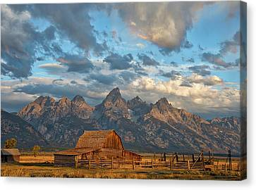 Darren Canvas Print - Rustic Wyoming by Darren White
