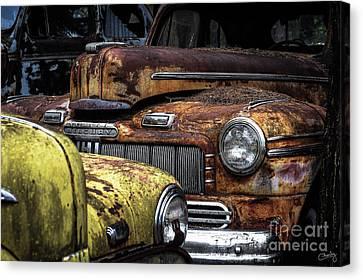 Rusting Away ... Canvas Print