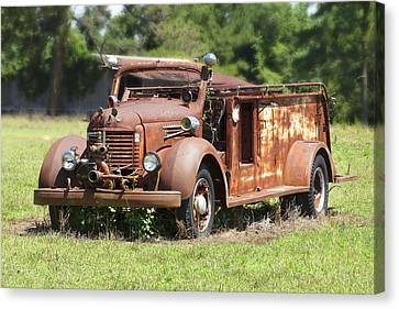 Rusting Away 2 Canvas Print by Mike McGlothlen