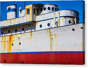 Rusting Cruise Liner Canvas Print