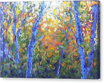 Rustlers Gulch Afternoon Canvas Print by Becky Chappell