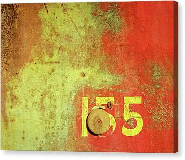 155 Canvas Print - Rusty 155 by David King