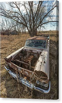 Canvas Print featuring the photograph Rusty by Aaron J Groen