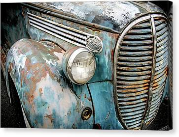 Rusty Blues Canvas Print by David Lawson