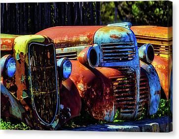 Rusty Dodge Canvas Print by Garry Gay