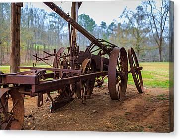 Rusty Farming Canvas Print