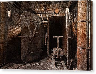 Rusty Grunge Mill Canvas Print