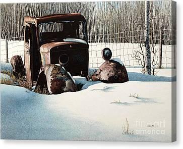 Rusty In Alberta Canvas Print