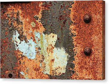 Rusty Layers Canvas Print