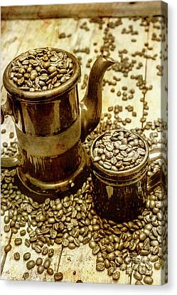 Rusty Old Cafe Still Life Artwork Canvas Print by Jorgo Photography - Wall Art Gallery