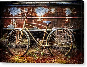 Rusty Ride Canvas Print by Debra and Dave Vanderlaan