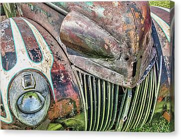 Rusty Road Warrior Canvas Print