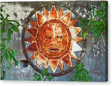 Rusty Sun Canvas Print