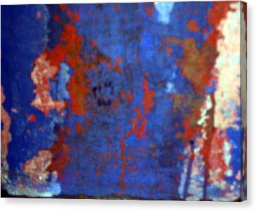 Canvas Print featuring the photograph Rusty Thing by Lola Connelly