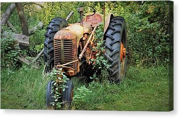 Rusty Tractor 3  Canvas Print