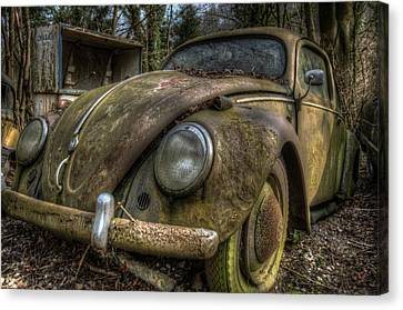 Rusty Vee Dub  Canvas Print
