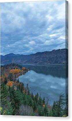 Canvas Print - Ruthton Point During Evening Blue Hour by David Gn