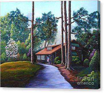 Rutland Tea Room Canvas Print