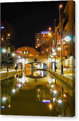 Rva Canal Walk Canvas Print