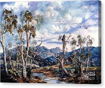 Rwetyepme, Mount Sonda Central Australia Canvas Print