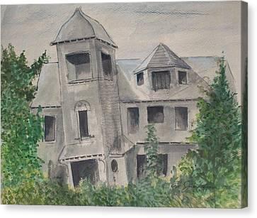 Ryan's Castle Canvas Print by Norman F Jackson