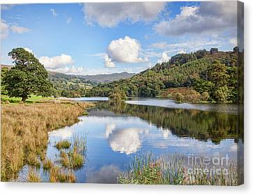 Rydal Water, English Lake District Canvas Print by Colin and Linda McKie