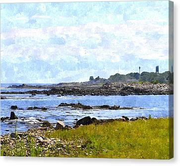 Rye Harbor Rhwc Canvas Print