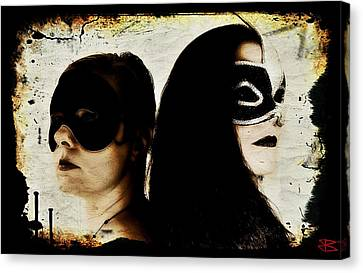 Ryli And Corinne 1 Canvas Print by Mark Baranowski