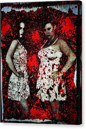 Ryli And Corinne 2 Canvas Print