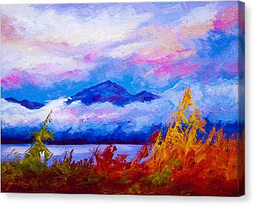 West Coast Canvas Print - Rythmn Of The Arctic by Marion Rose